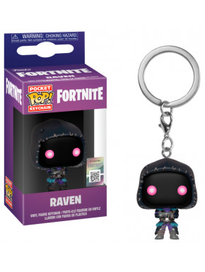 Llavero mini Funko Pop! Raven Fortnite