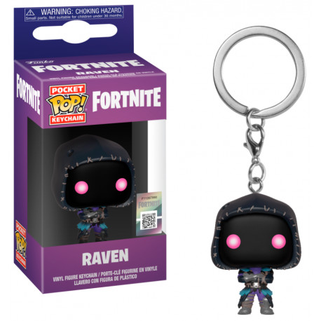 Fortnite Llavero Pocket POP! Vinyl Raven 4 cm