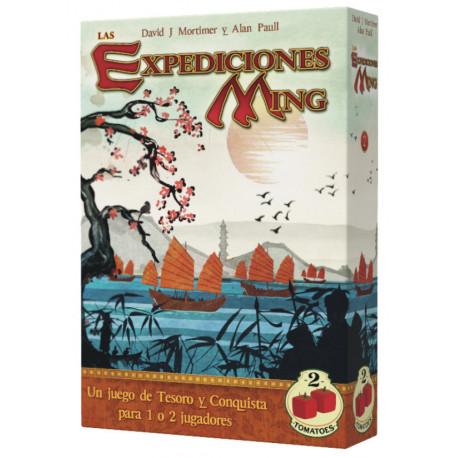Juego de Mesa Las Expediciones Ming