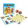 Juego de Damas y Tres en raya Super Mario vs. Bowser Collector's Game