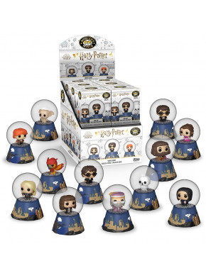 Harry Potter Mystery Mini Bolas de Nieve Expositor (12)