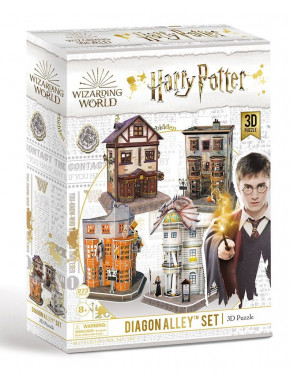 Puzzle 3D Callejón Diagon Set (273 piezas) Harry Potter