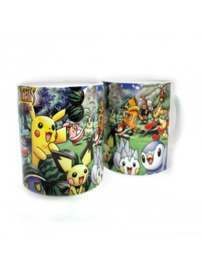 Taza Pokemon Pikachu big picture
