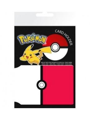 Porta-cartões Pokemon Pokeball