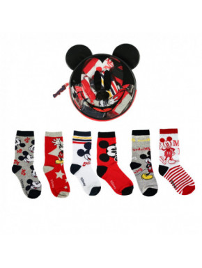PACK CALCETINES 6 PIEZAS MICKEY