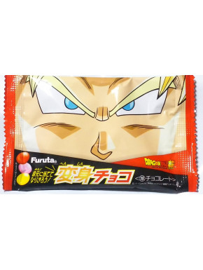 Caramelos de chocolate Dragon Ball Furuta