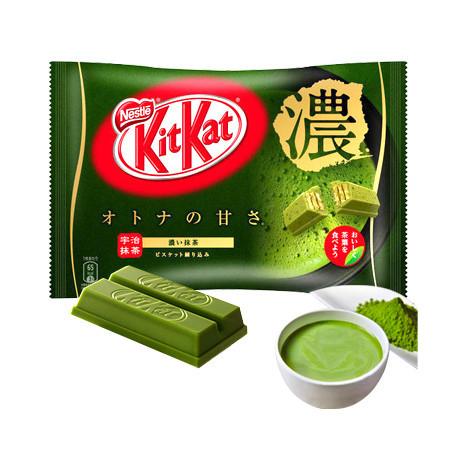 12 mini Kit Kat Doble Matcha