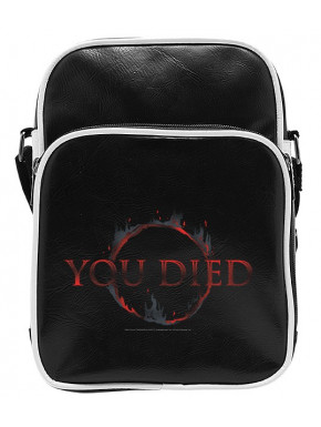 "DARK SOULS - Messenger Bag  ""You Died"" - Vinyl Small Size"