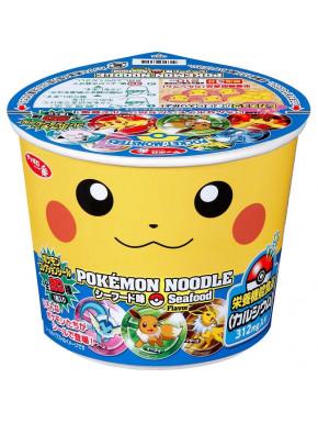 Ramen sabor marisco Pokemon Pikachu 38 Gr