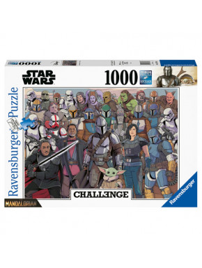Star Wars The Mandalorian Challenge Puzzle Baby Yoda (1000 piezas)