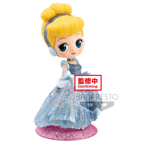 Figura Cenicienta Disney Q Posket Purpurina