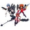 Set de Figuras Evangelion Army Megahouse