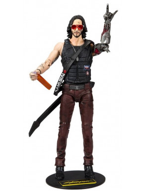 Cyberpunk 2077 Figura Johnny Silverhand 18 cm