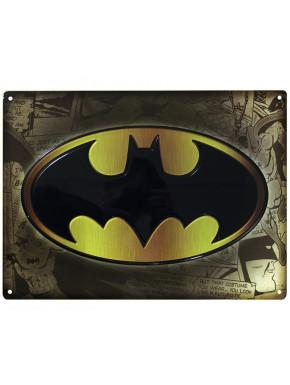 "DC COMICS – Metal plate ""Batman"" (28x38)*"