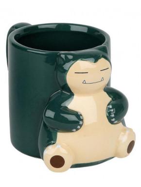 Taza 3D Snorlax Pokemon