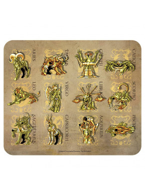 SAINT SEIYA - Flexible mousepad - Gold armors