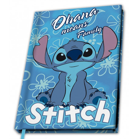 DISNEY - A5 Notebook Lilo & Stitch - Stitch X4