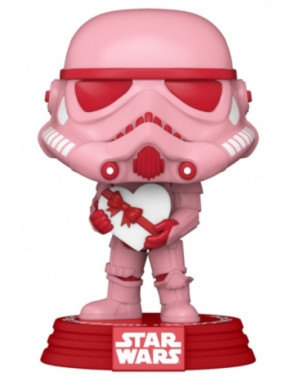 Funko POP! Stormtrooper con Corazón Especial San Valentin Star Wars