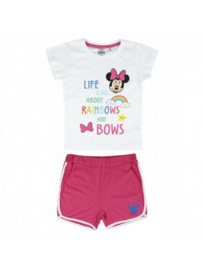 PIJAMA CORTO ALGODÓN SINGLE JERSEY MINNIE