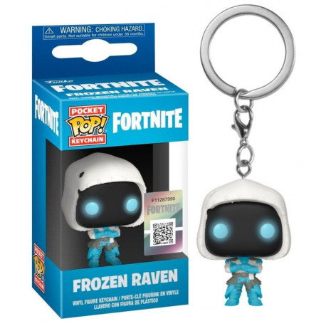 Llavero mini Funko Pop! Frozen Raven Fortnite
