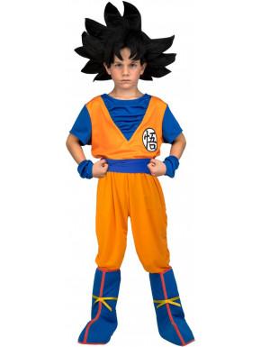 Disfraz Completo Son Goku Dragon Ball