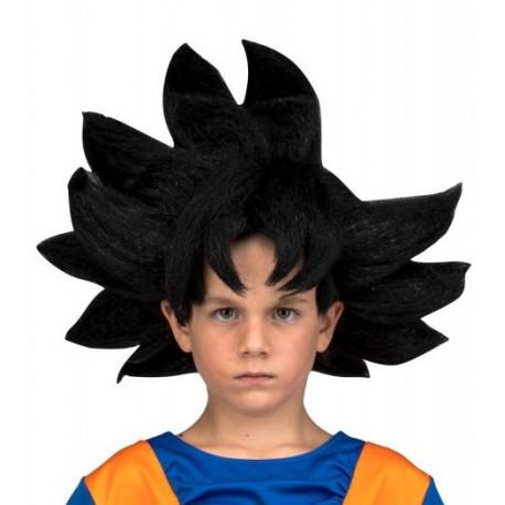 Peluca cosplay Goku Dragon Ball Infantil