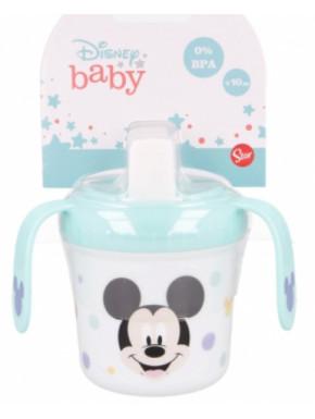 Taza azul entrenamiento Mickey Mouse 250 ml