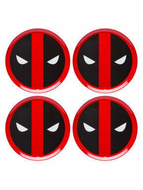 Set de platos Deadpool