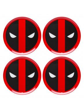 Set de platos Deadpool