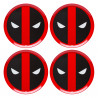 Set de platos Deadpool Logo
