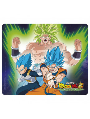 DRAGON BALL BROLY - Flexible mousepad - Broly VS Goku & Vegeta