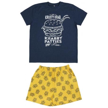 Pijama corto Bob Esponja Burger Kangreburger