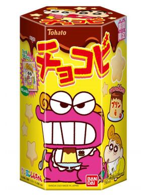 Snack de Pudding de Chocolate Shin Chan Chocobi con Sticker