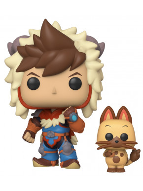 Funko Pop! Figura Lute & Navirou 9 cm Monster Hunter