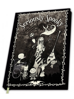NIGHTMARE BEFORE XMAS - A5 Notebook Seriously Spooky X4