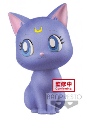 Figura Luna Sailor Moon Q Posket Terciopelo
