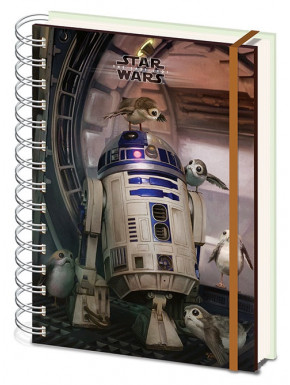 Libreta Star Wars The Last jedi