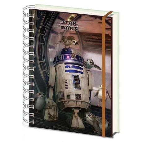 Libreta Star Wars The Last jedi