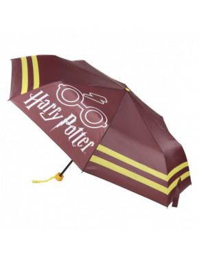 Paraguas plegable Gryffindor Harry Potter
