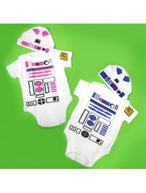 Body bebe Star Wars R2D2