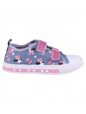 Zapatillas de Loneta Minnie luces