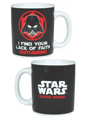 Taza Star Wars lack of faith""""