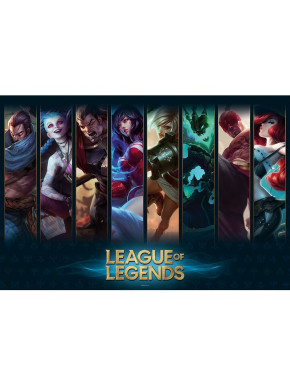 "LEAGUE OF LEGENDS - Poster ""Champions"" (91.5x61)"