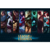 Poster League of Legends Champions