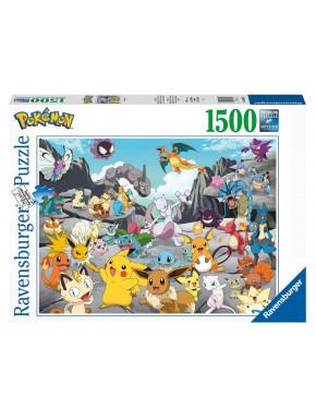 Pokémon Puzzle Pokémon Classics (1500 piezas)