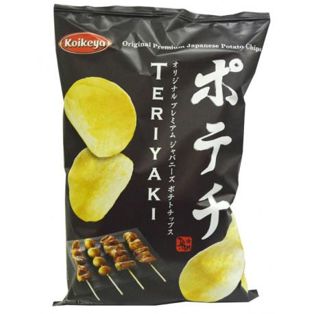 Patatas fritas Wasabi y Nori Koikeya 100 gr