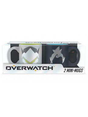 Set 2 tazas espresso mugs 110 ml  Overwatch