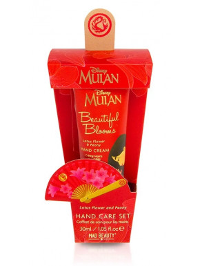 Set cuidado de manos y uñas Mulan Disney