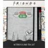 Set de cuaderno y bolígrafo Friends