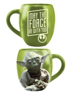 Taza Star Wars Yoda verde 500 ml